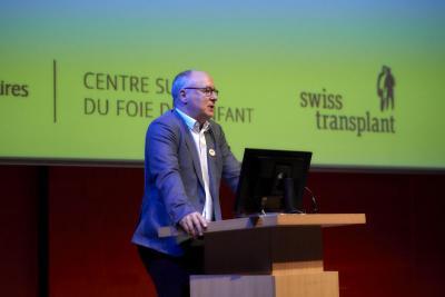 M. Pierre-Yves Maillard, président du Conseil de Fondation de Swisstransplant