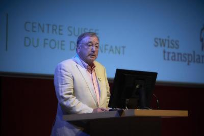 Prof. Dominique Belli, ancien responsable du Centre suisse du foie de l'enfant, pionnier de la transplantation pédiatrique à Genève, Hôpitaux Universitaires de Genève
